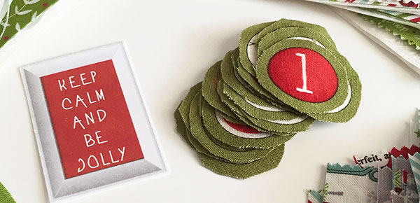 Sweetwater Fabric Countdown To Christmas Numbers