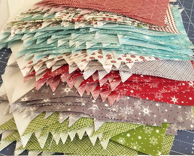 Lady of the Lake Quit block hst pile
