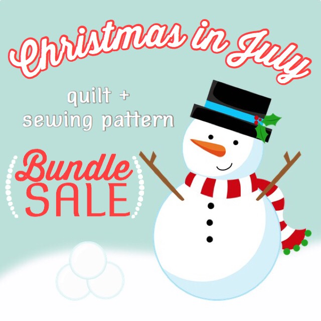 Xmas in July Pattern Bundle 2017