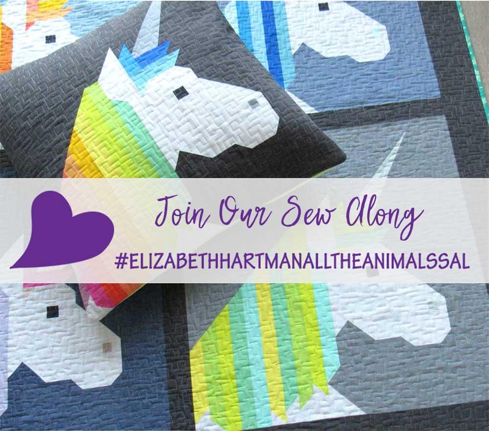 Elizabeth Hartman's All the Animals Sew Along Restart
