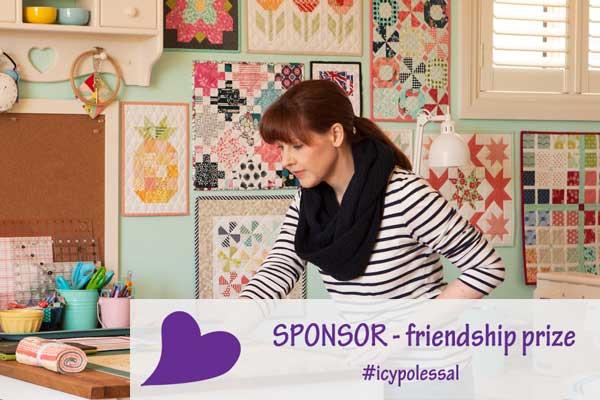 Icy Poles Sew Along – Friendship Sponsor