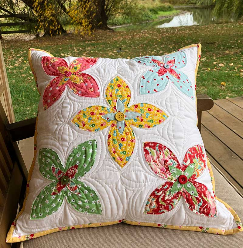 Charm Collective 5 – Flowering Charms Cushion