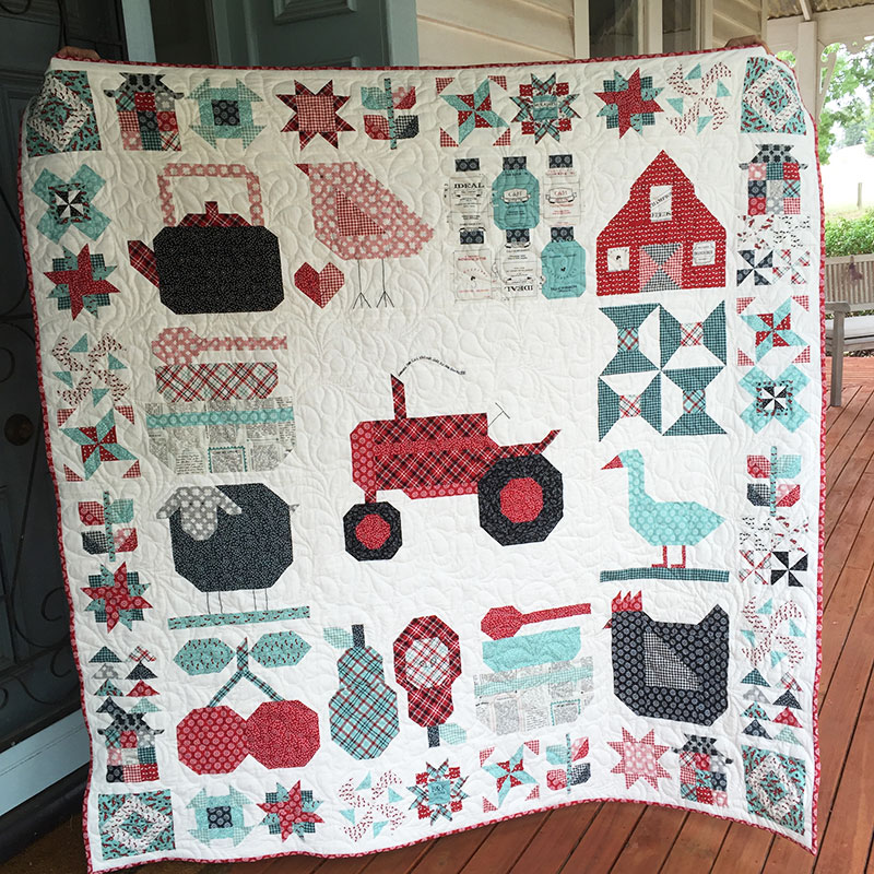 Farm Girl Vintage for Blogger's Quilt Festival
