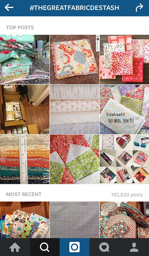 More on Instagram for Quilters
