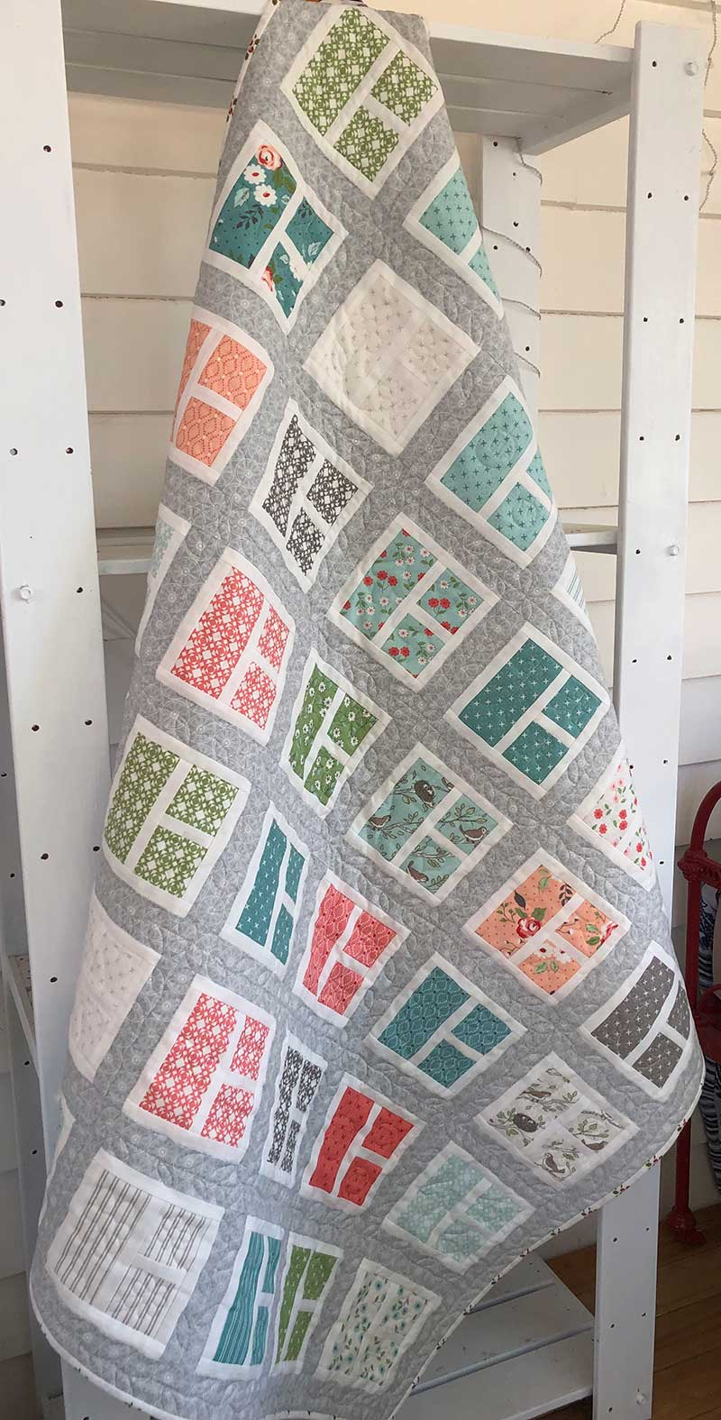 Charm Collective – 3 Pane's a Charm Quilt