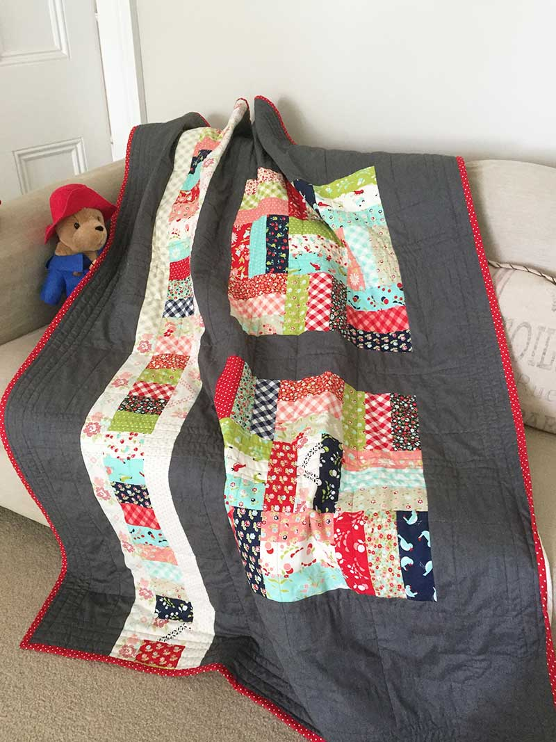 Swl Jelly Roll Patch Quilt Pattern