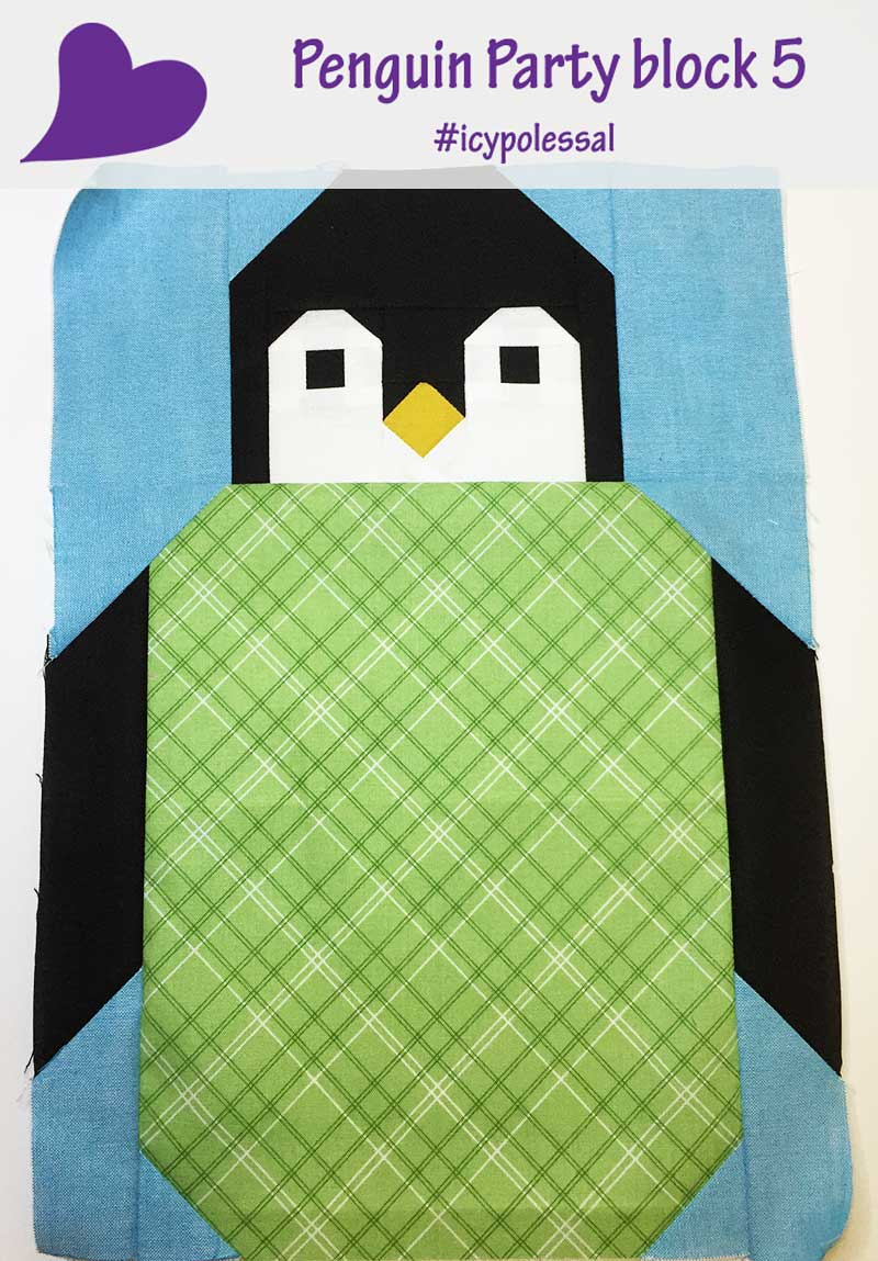 Icy Poles Sew Along – Week 4 Penguin