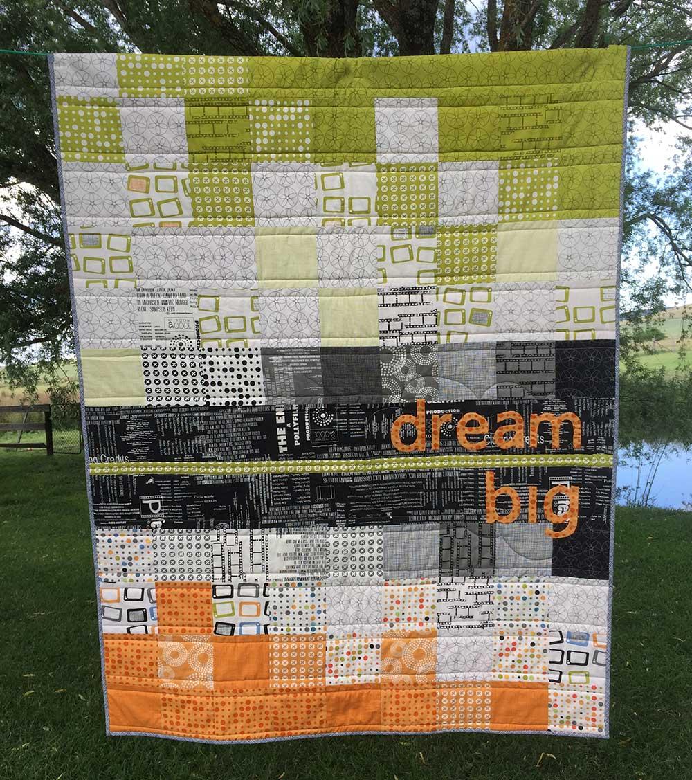 Dream Big Quilt Pattern in MMM