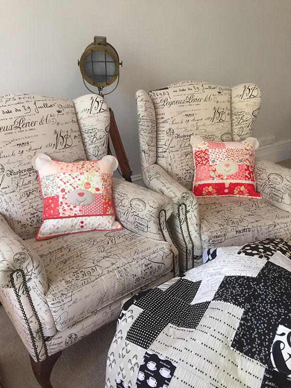 More Teddy Bear Cushions