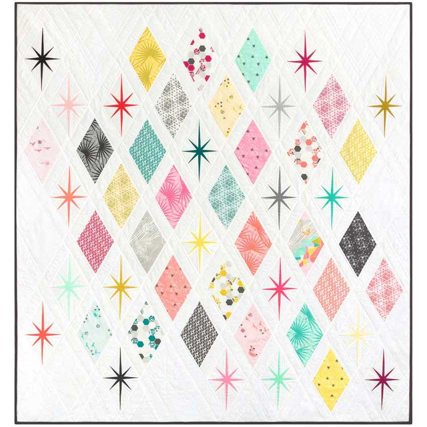 Atomic Starburst Sew Along and Class