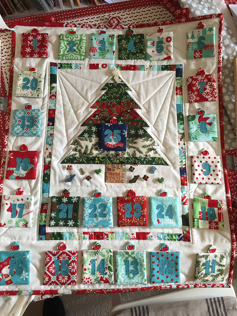 Said With Love Advent Calendar Sew Along