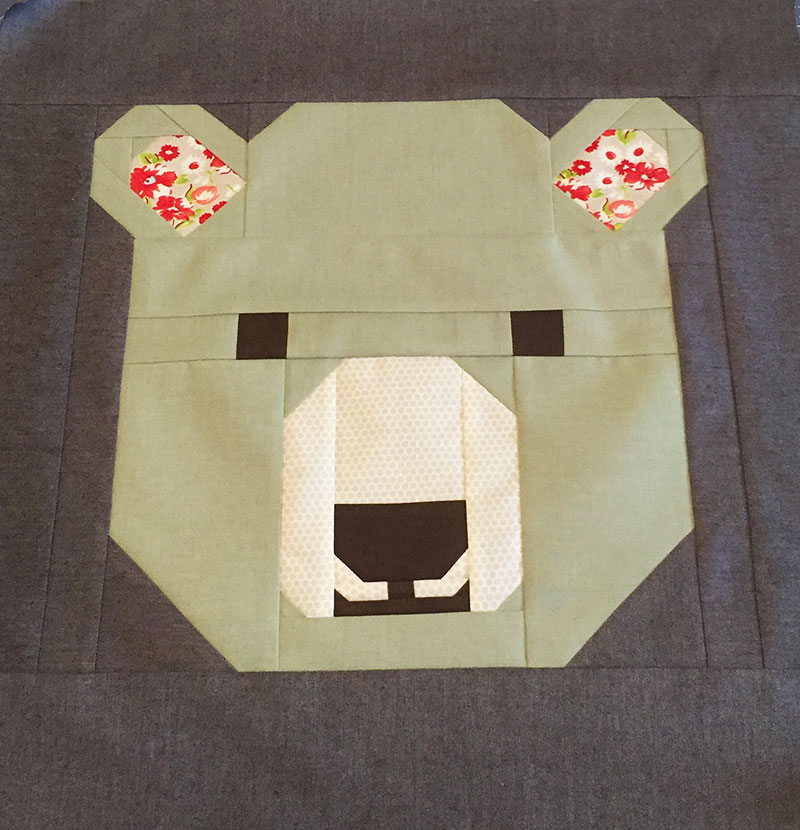 Elizabeth Hartman's All the Animals Sew Along – Bjorn Bear