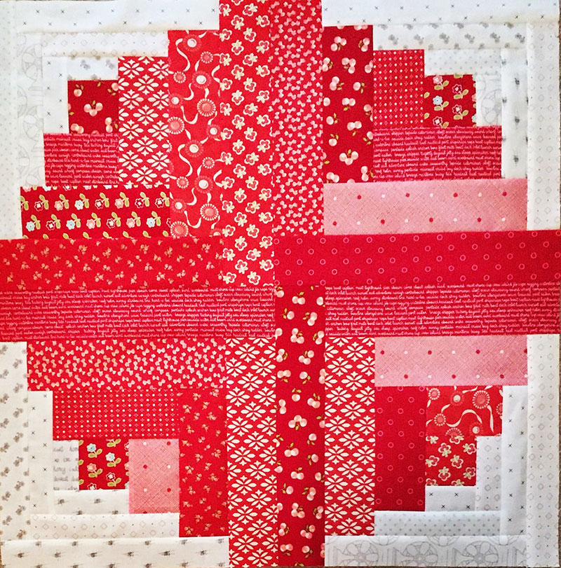 Curved Log Cabin Quilt Pattern - todoityourself com