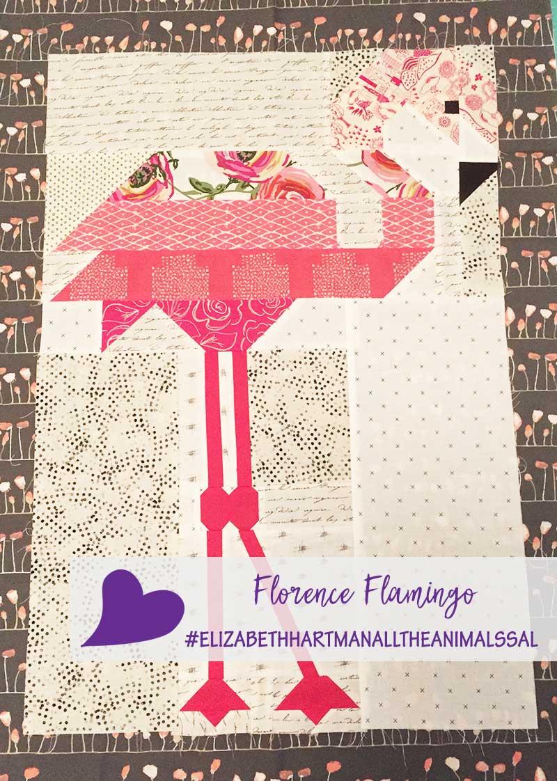 Elizabeth Hartman's All the Animals Sew Along – Florence Flamingo