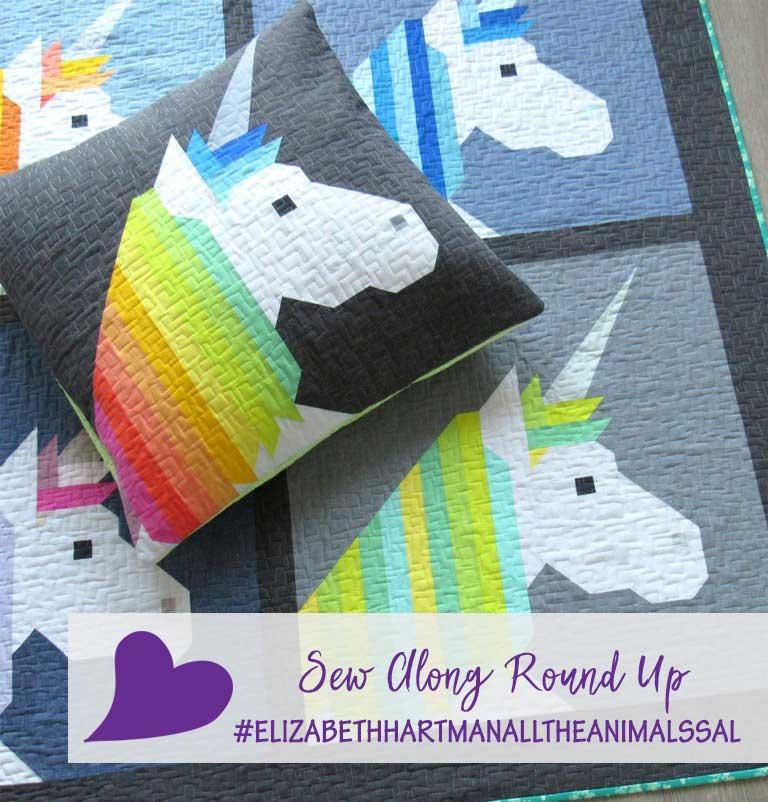 Elizabeth Hartman's All the Animals Sew Along Round Up