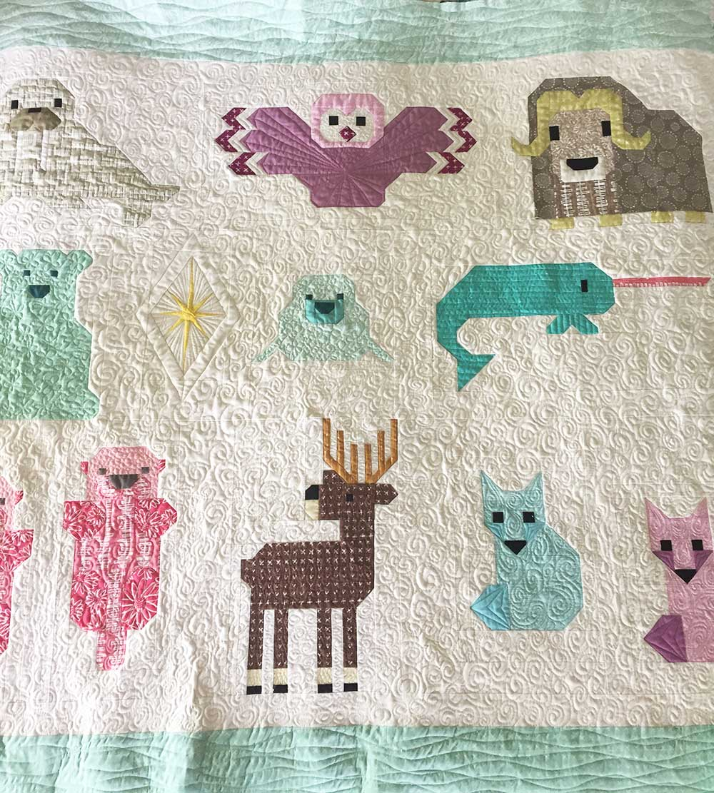 Icy Poles Sew Along – North Stars Quilt