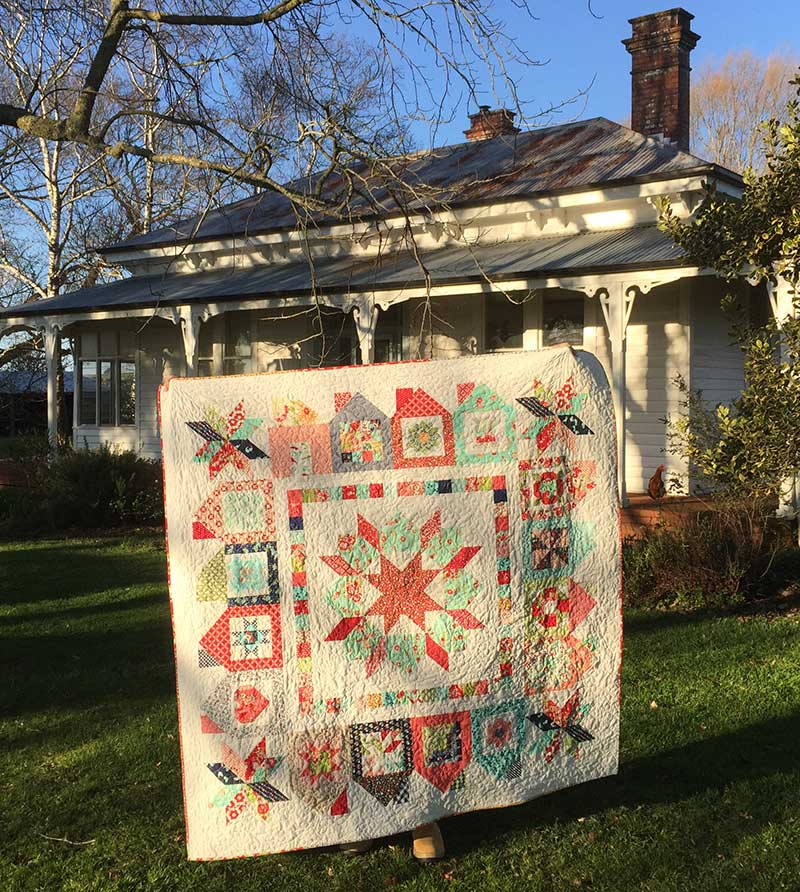 It Takes a Village Dwell Quilt