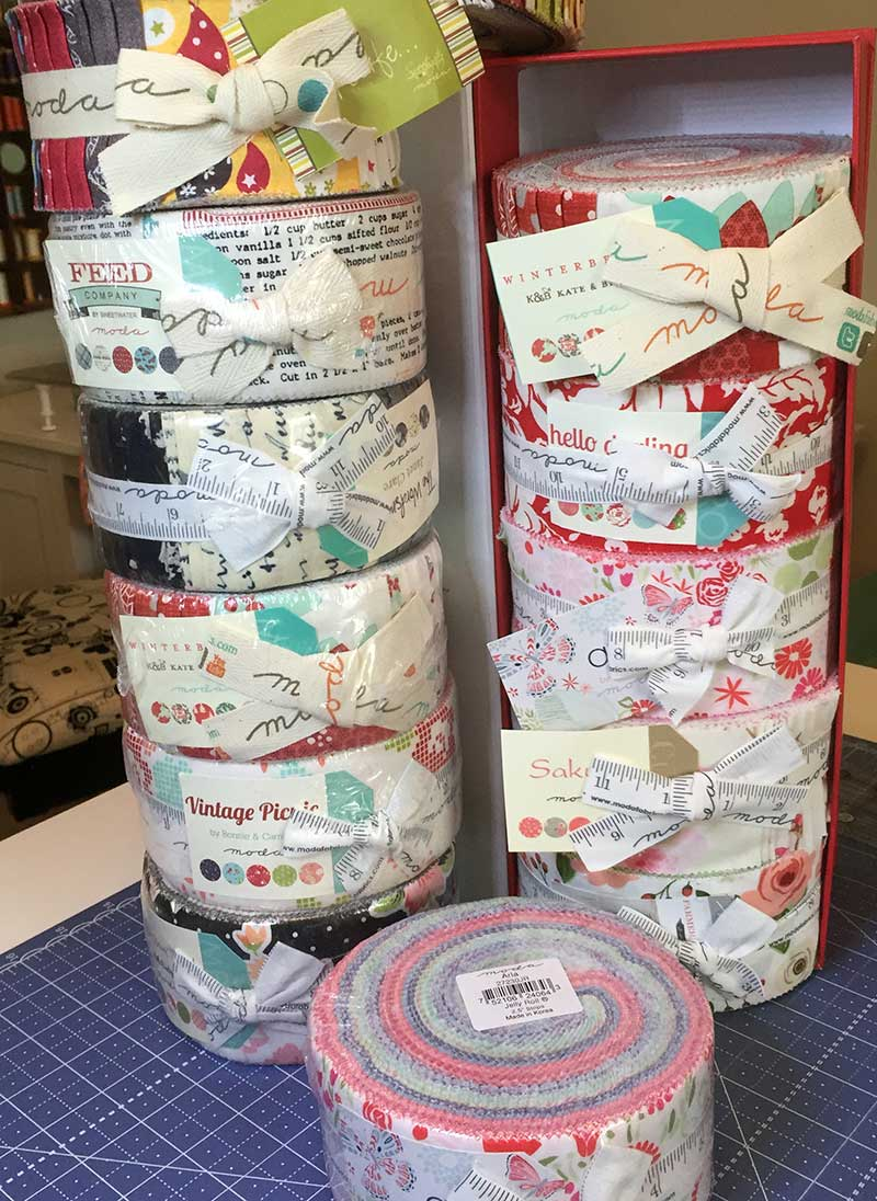 Sew A Jelly Roll Day Fun