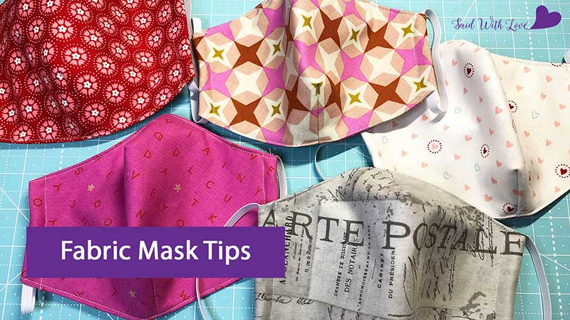 Fabric Face Mask Tips