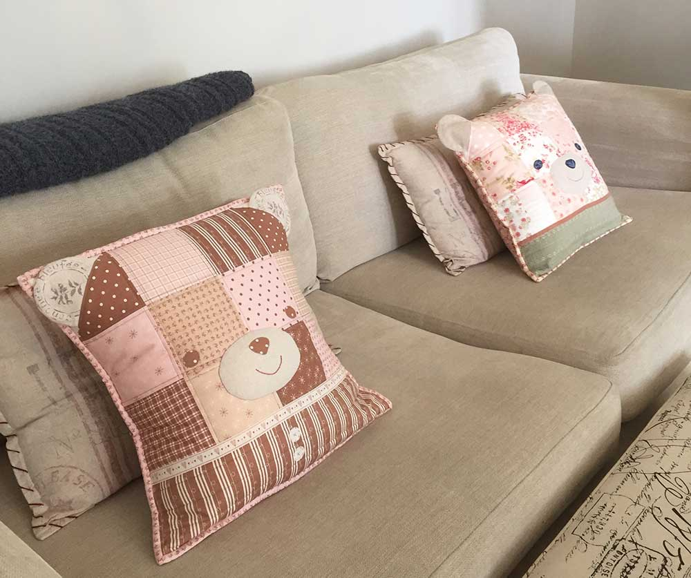 Teddy Bear Cushion Classes